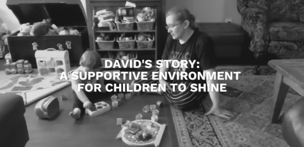 David's Story: A Supportive Environment for Children to Shine